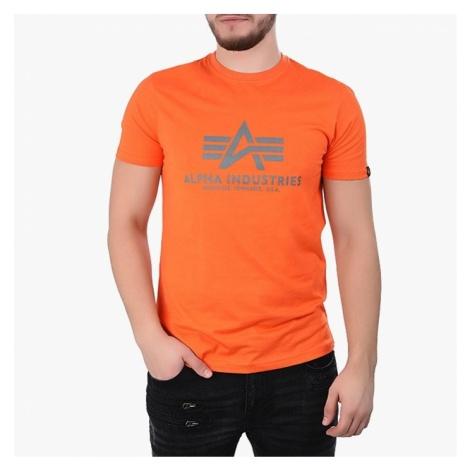 Koszulka męska Alpha Industries Basic 100501 417