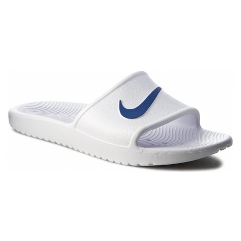 Klapki NIKE - Kawa Shower 832528 100 White/Blue Moon