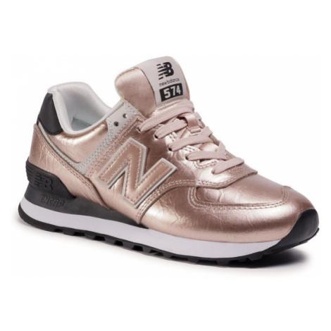 New Balance Sneakersy WL574WER Różowy