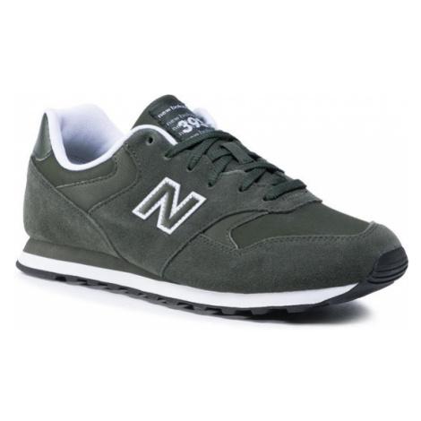 New Balance Sneakersy ML393LR1 Zielony