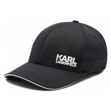 KARL LAGERFELD Czapka z daszkiem 805612 511122 Czarny