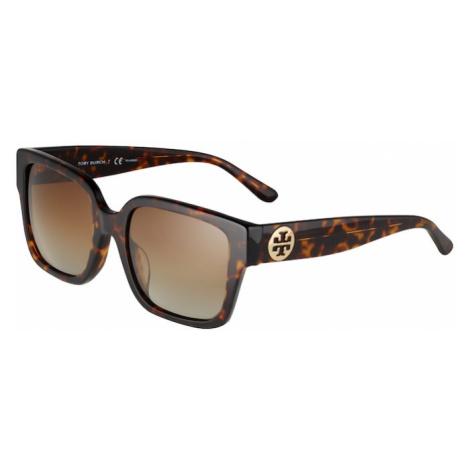 Tory Burch Okulary przeciwsłoneczne '0TY7156U' beżowy / brązowy