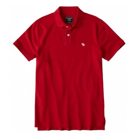 Abercrombie & Fitch Koszulka 'CORE POLO T5' czerwony