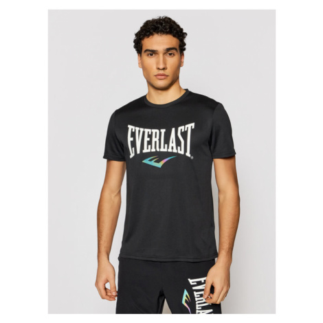 EVERLAST T-Shirt 855030-60 Czarny Regular Fit