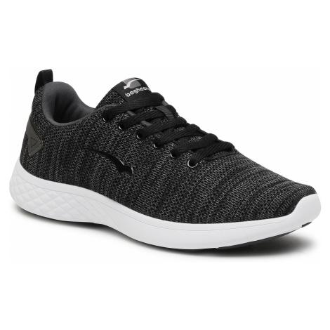 Sneakersy BAGHEERA - Flow 86447-6 C0102 Black/Dark Grey