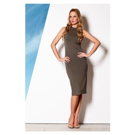 Sukienka damska M263 olive Figl