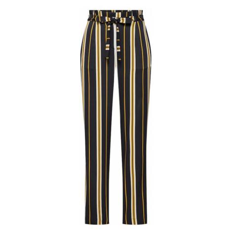 SOAKED IN LUXURY Spodnie 'Malia Pants' beżowy / żółty / czarny