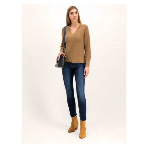 MICHAEL Michael Kors Sweter Shaker MF96P0YCHM Brązowy Relaxed Fit