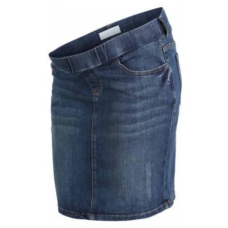 MAMALICIOUS Spódnica niebieski denim Mama Licious