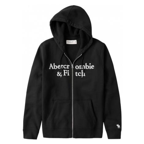 Abercrombie & Fitch Bluza rozpinana czarny