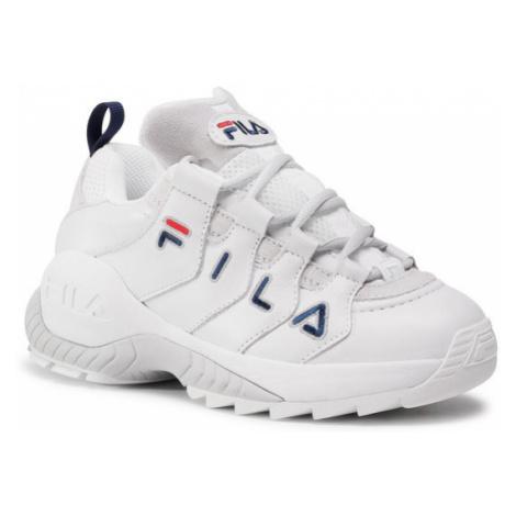 Fila Sneakersy Countdown Low Wmn 1010751.92D Biały