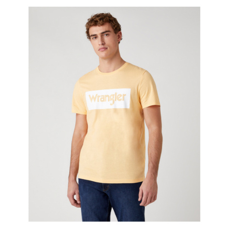 Wrangler Koszulka Żółty
