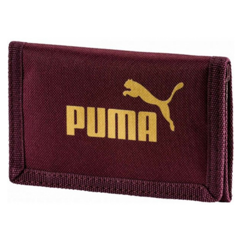 Puma PHASE WALLET bordowy UNI - Portfel