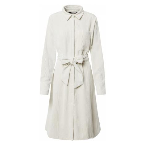 Gina Tricot Sukienka koszulowa 'Janelle' nakrapiany biały