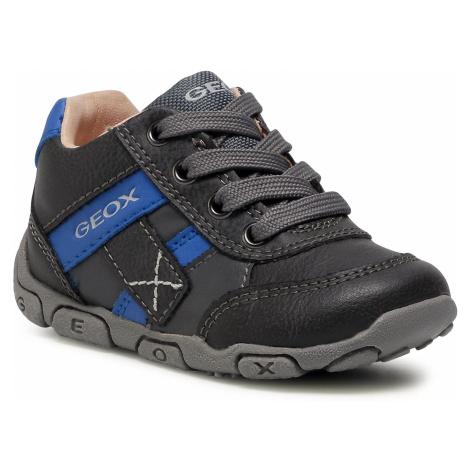 Sneakersy GEOX - B Balu' B.B B0436B 0MEBU C0071 Dk Grey/Royal
