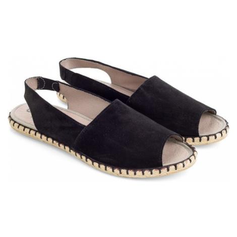 Sandały Damskie | Czarne Pinna Ater Woox