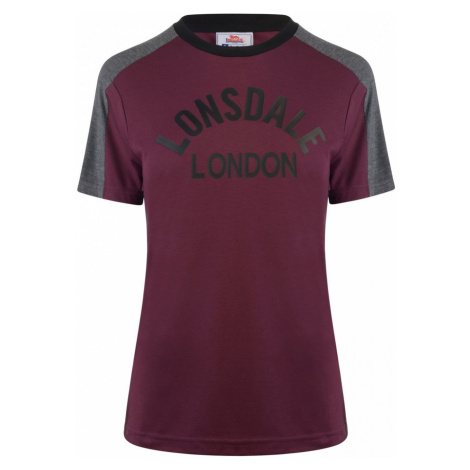 Lonsdale Long Line Crew T Shirt Ladies