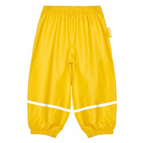 Playshoes Spodnie materiałowe 405421 M Żółty Regular Fit