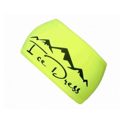 opaska na włosy IceDress Sport Hory - Neon Yellow