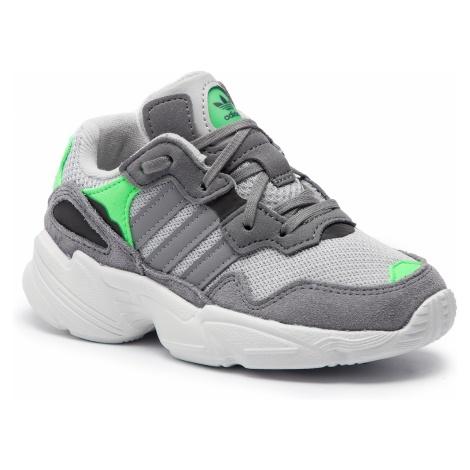 Buty adidas - Yung-96 C F34280 Gretwo/Grethr/Shopnk