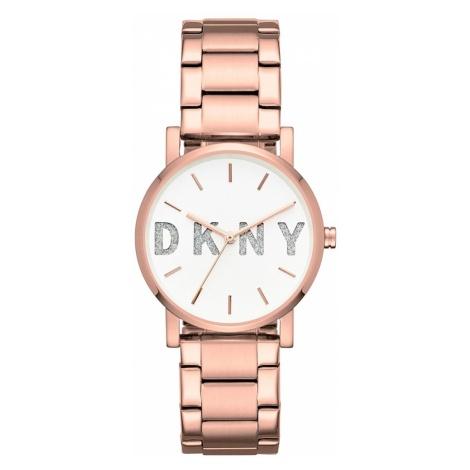 Zegarek DKNY - Soho NY2654 Rose Gold/Rose Gold
