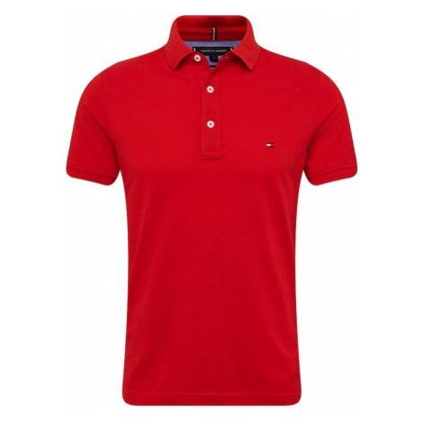 TOMMY HILFIGER Koszulka 'TOMMY SLIM POLO' czerwony