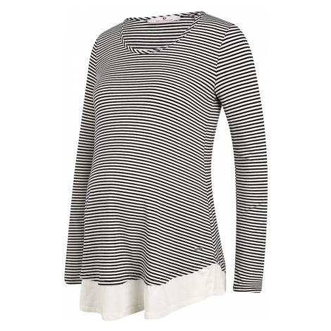 BELLYBUTTON Koszulka czarny / biały