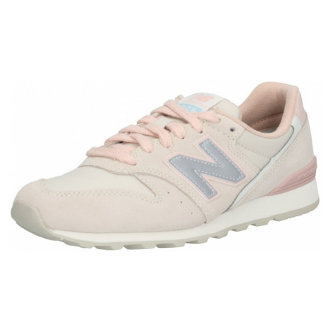 New Balance Trampki niskie 'WL996' jasnoszary / różowy pudrowy