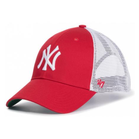 47 Brand Czapka z daszkiem New York Yankees B-BRANS17CTP-RD Czerwony
