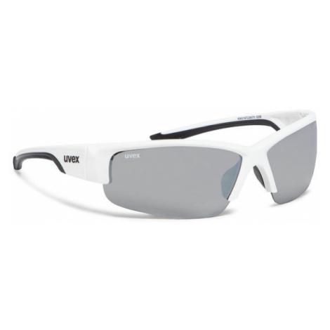 Uvex Okulary przeciwsłoneczne Sportstyle 215 S5306178216 Biały
