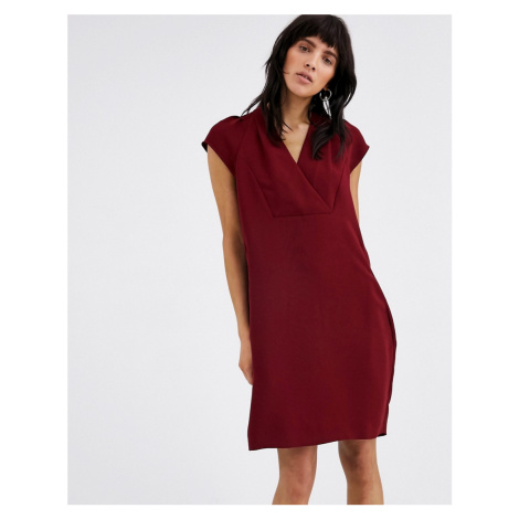 Whistles sabina v neck mini dress