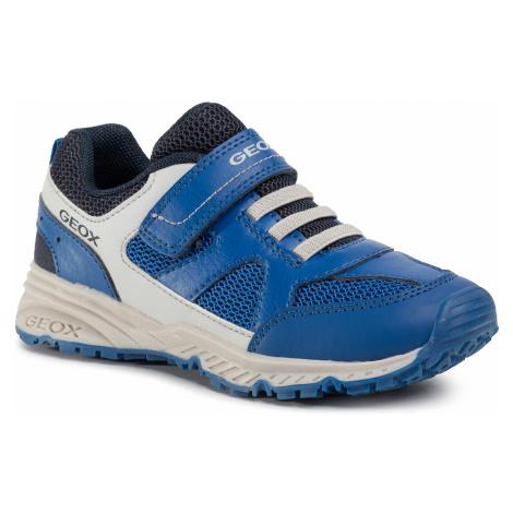 Sneakersy GEOX - J Bernie A J0211A 0FE14 CK41L S Royal/Lt Grey