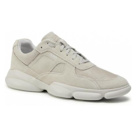 Hugo Sneakersy Rapid 50432847 10214574 01 Beżowy Hugo Boss