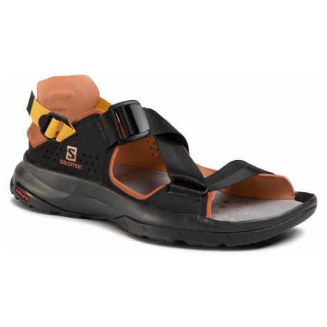 Sandały SALOMON - Tech Sandal 409773 22 M0 Black/Caramel Cafe/Arrowwood