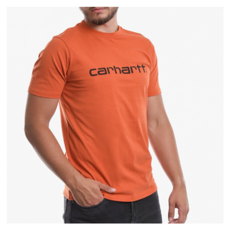 Koszulka męska Carhartt WIP I023803 Brick Orange