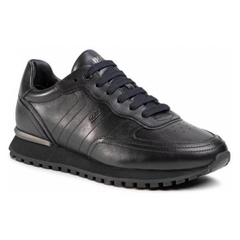 Boss Sneakersy Parkour-L 50445701 10214643 01 Czarny Hugo Boss
