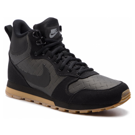 Buty NIKE - Md Runner 2 Mid Prem 844864 006 Black/Black/Gum Light Brown
