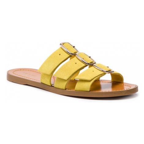 Patrizia Pepe Klapki 2V8741/A5B3-Y345 Żółty