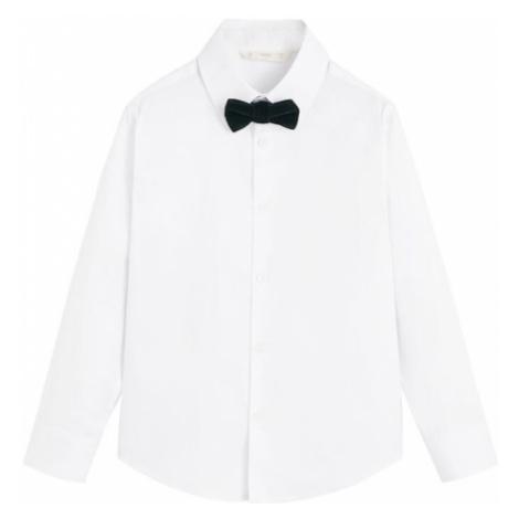 MANGO KIDS Koszula 'Pajarita' biały