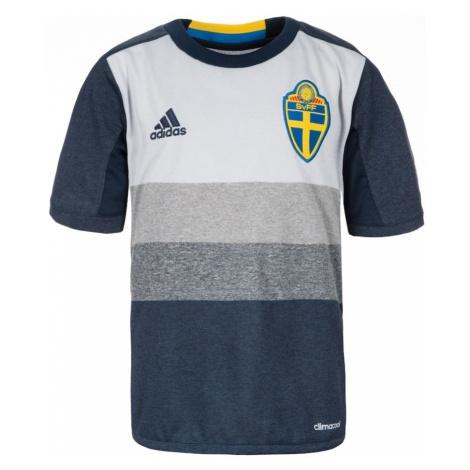 ADIDAS PERFORMANCE Koszulka funkcyjna 'Schweden Trikot Away EM 2016' ciemny niebieski / jasnosza