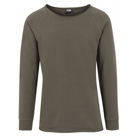Urban Classics Sweter oliwkowy