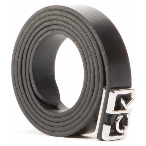 Pasek Damski CALVIN KLEIN - Plaque Skinny Belt 20Mm K60K607325 BAX