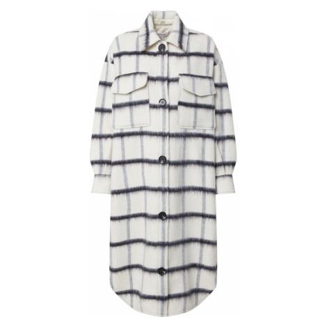 EDITED Płaszcz przejściowy 'Henrietta' biały / antracytowy