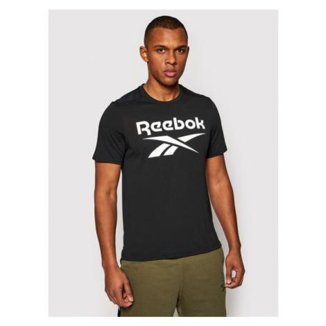 Reebok T-Shirt Workout Ready Supremium Graphic FK6219 Czarny Classic Fit