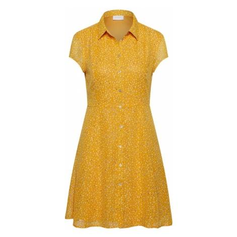VILA Letnia sukienka żółty