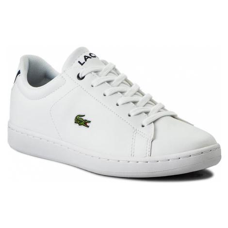Sneakersy LACOSTE - Carnaby Evo Bl 1 Spj 7-33SPJ1003042 Wht/Nvy