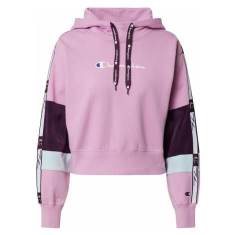 Champion Authentic Athletic Apparel Bluzka sportowa fioletowy / biały / ciemnofioletowy
