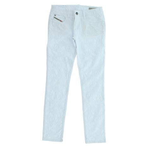 Diesel Spodnie dziecięce Biały