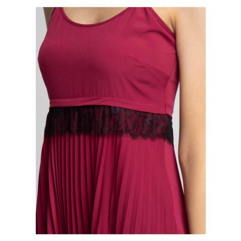 TwinSet Sukienka wieczorowa 192TP2282 Fioletowy Regular Fit