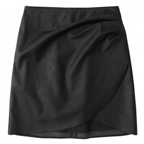 Abercrombie & Fitch Spódnica czarny